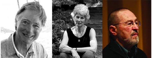 Colin Browne, Daphne Marlatt, and Fred Wah