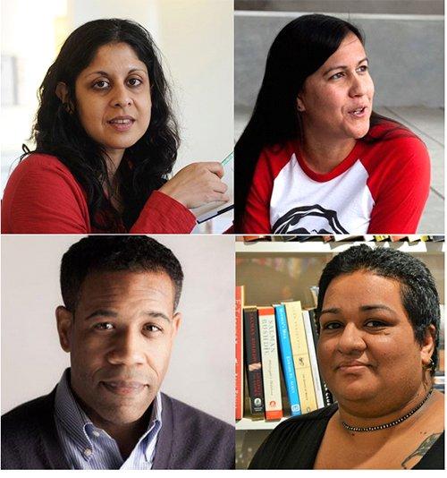 Vahni Capildeo, Natalie Diaz, Gregory Pardlo, and Shivanee Ramlochan