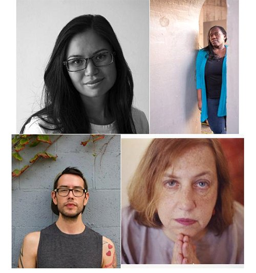 Jen Hyde, Cynthia Manick, Tommy Pico, and Martha Rhodes