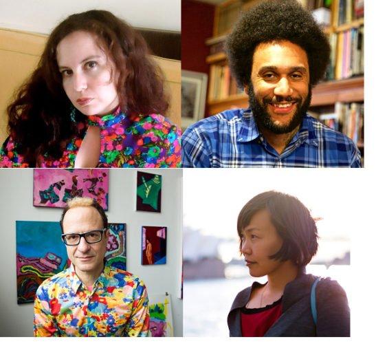 Dorothea Lasky, Tongo Eisen-Martin, Wayne Koestenbaum, and Celina Su