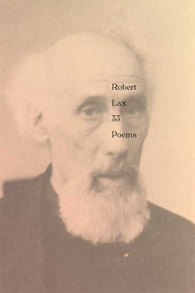 Robert Lax: 33 Poems book cover