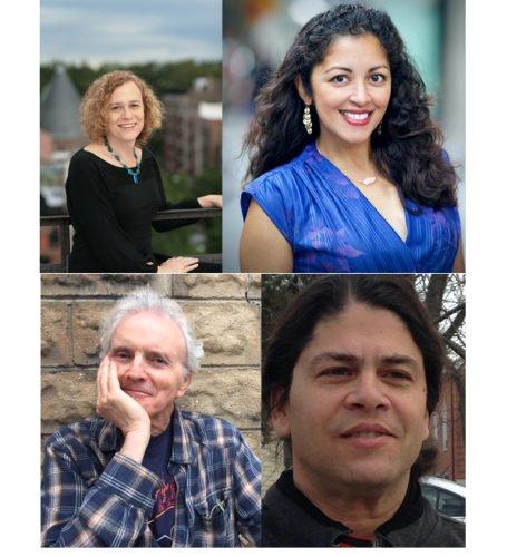 Joy Ladin, Aimee Nezhukumatathil, Michael Lally, Roberto Harrison