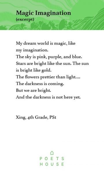 Magic Imagination (excerpt) by Xing, 4th Grade, PS 1