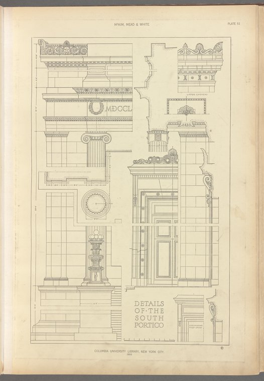 Architectural drawing, NYPL
