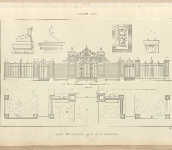 Building blueprint, NYPL
