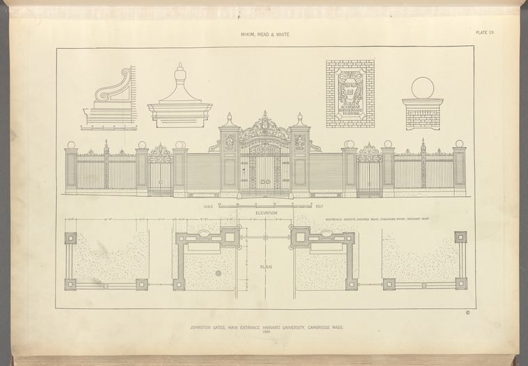 Building blueprint, NYPL