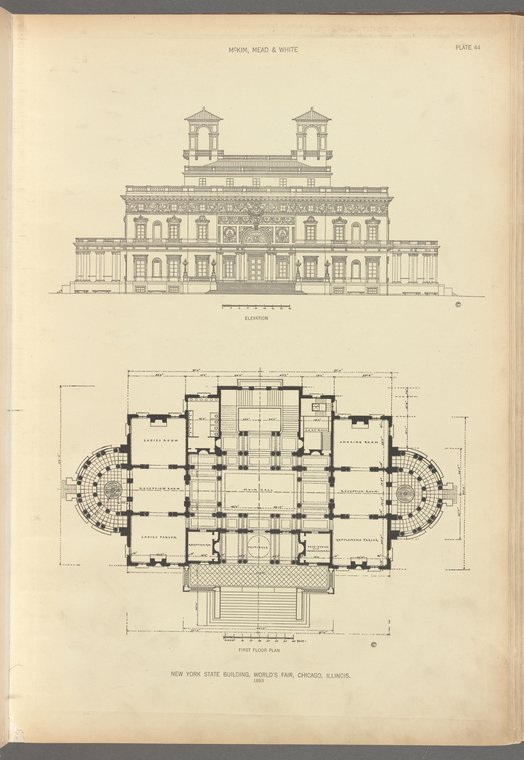 Building blueprint image