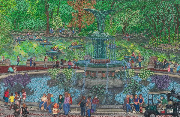 Bethesda Fountain, Nicholas Buffon