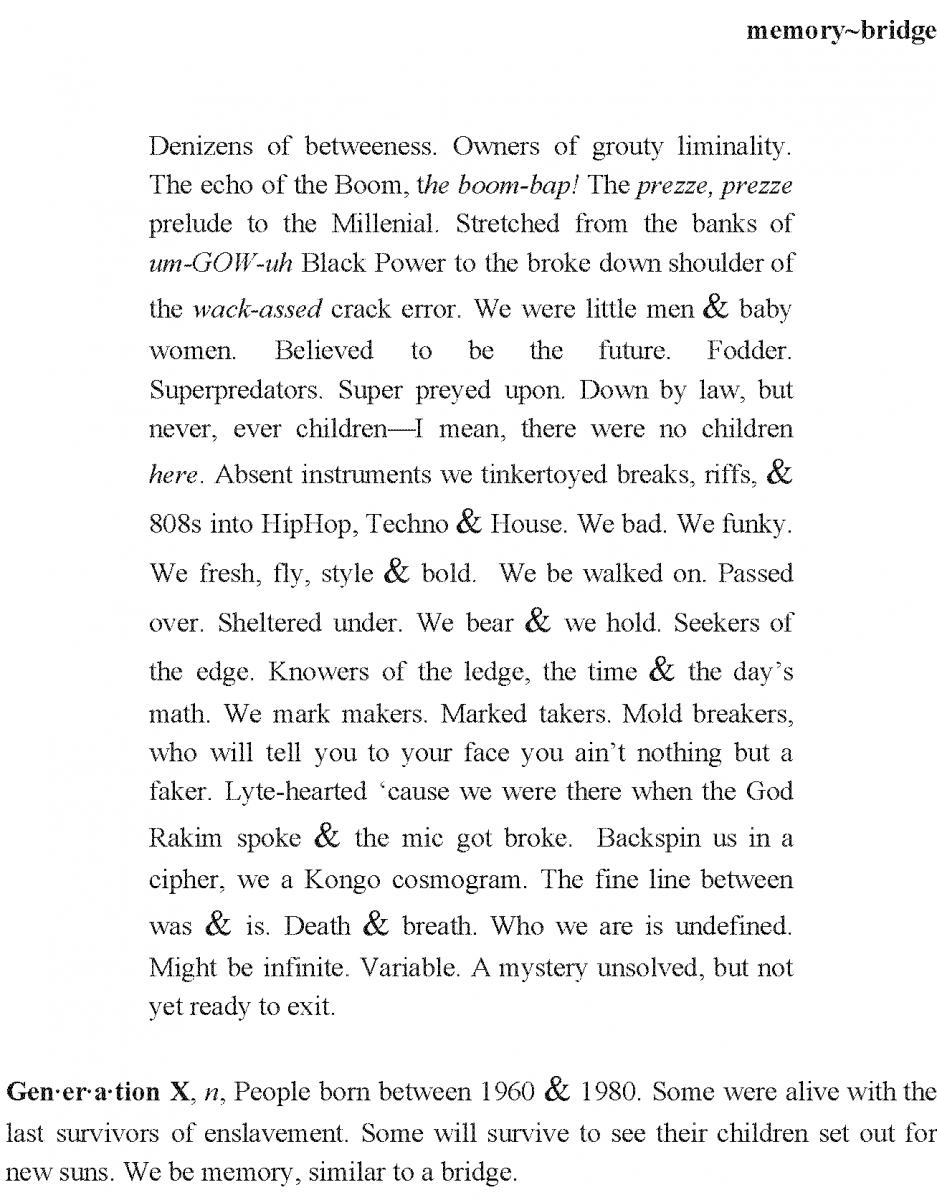 Shalewa Mackall poem