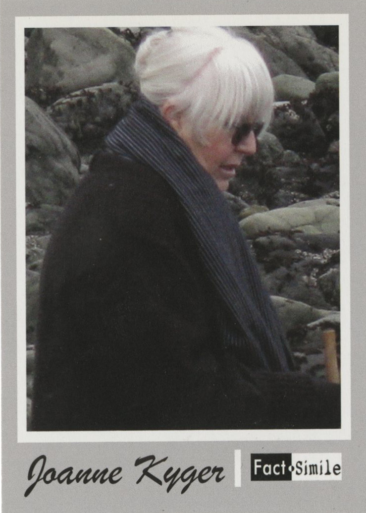 Joanne Kyger, Fact-Simile Editions (2011)