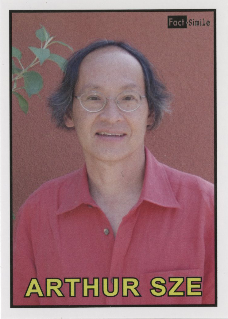 Arthur Sze, Fact-Simile Editions (2014)