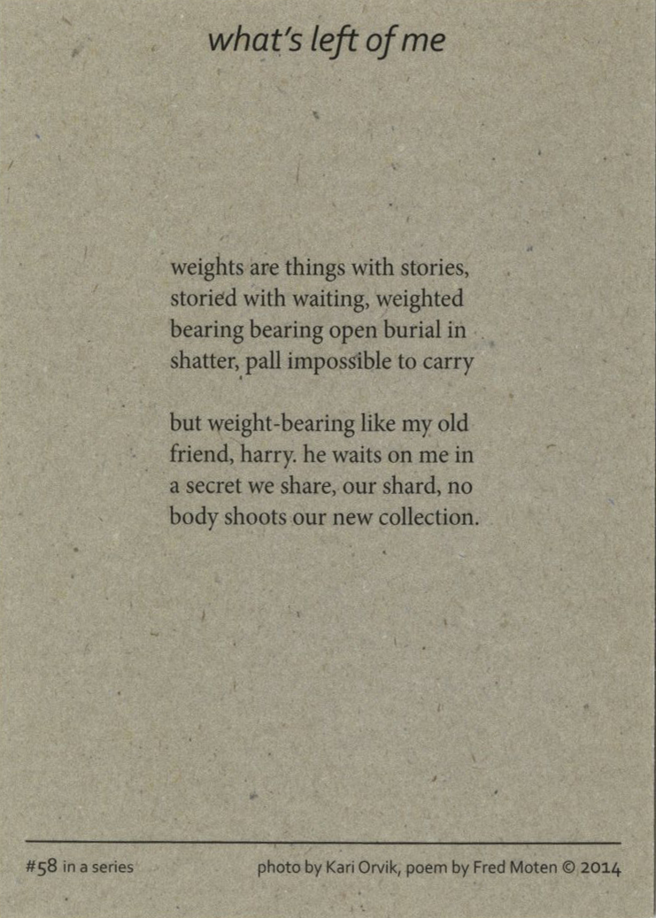 Fred Moten, Fact-Simile Editions (2014)