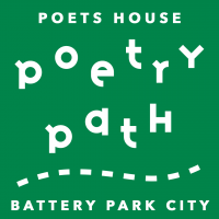 Poets House Poetry Path in Battery Park City!