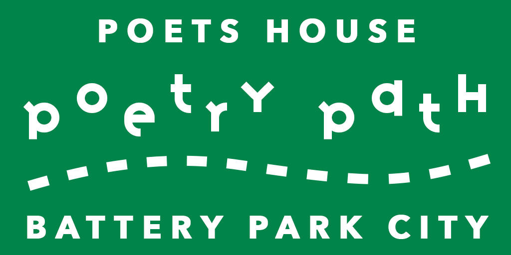 Welcome to the Poets House Poetry Path in Battery Park City!