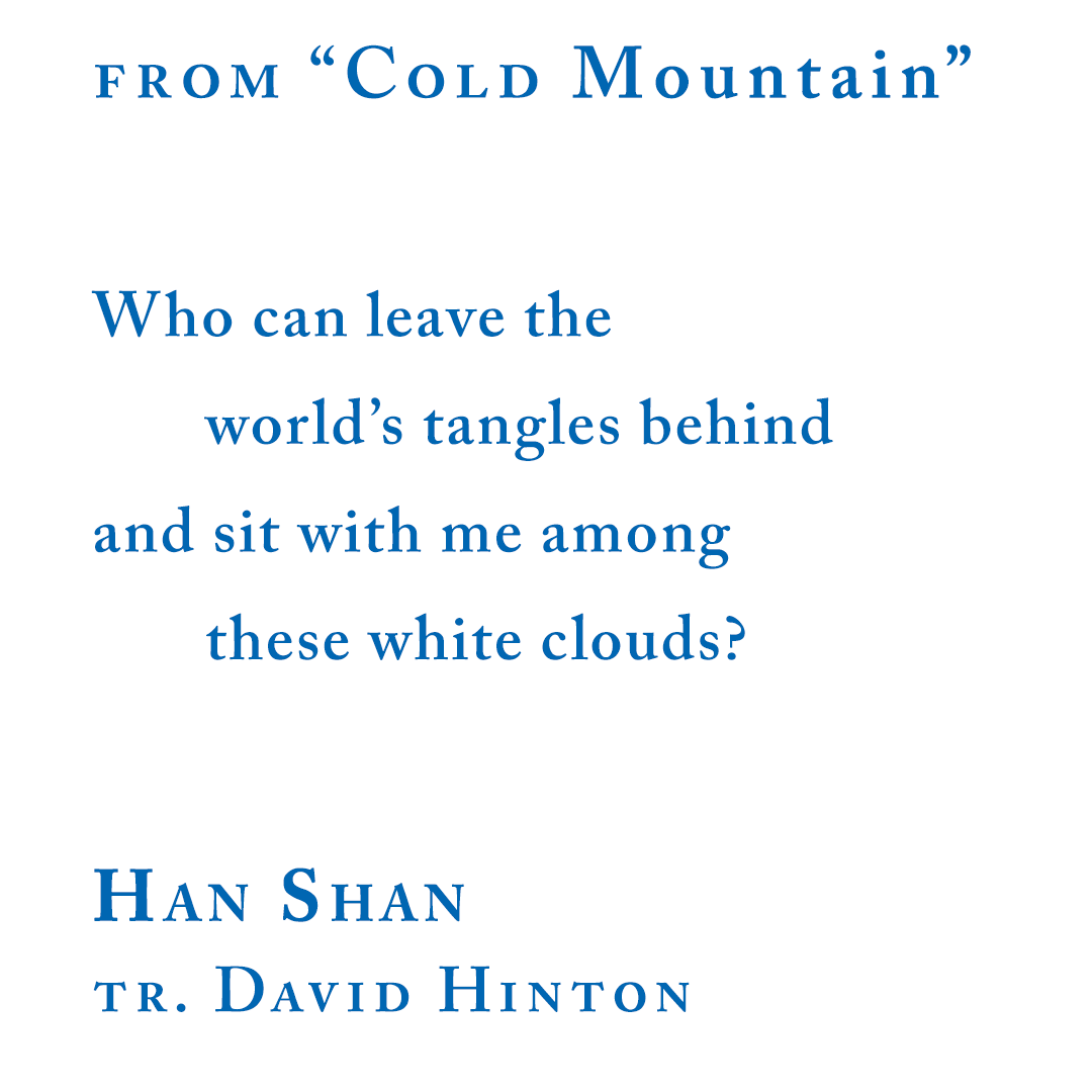 """Han Shan, from """"Cold Mountain"""" excerpt"""