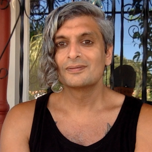 Poet Kazim Ali
