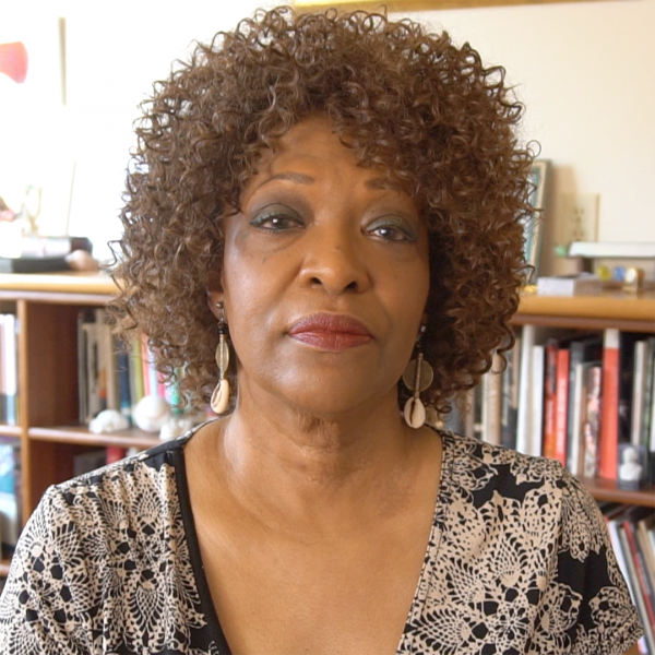 Rita Dove at home in Charlottesville, VA