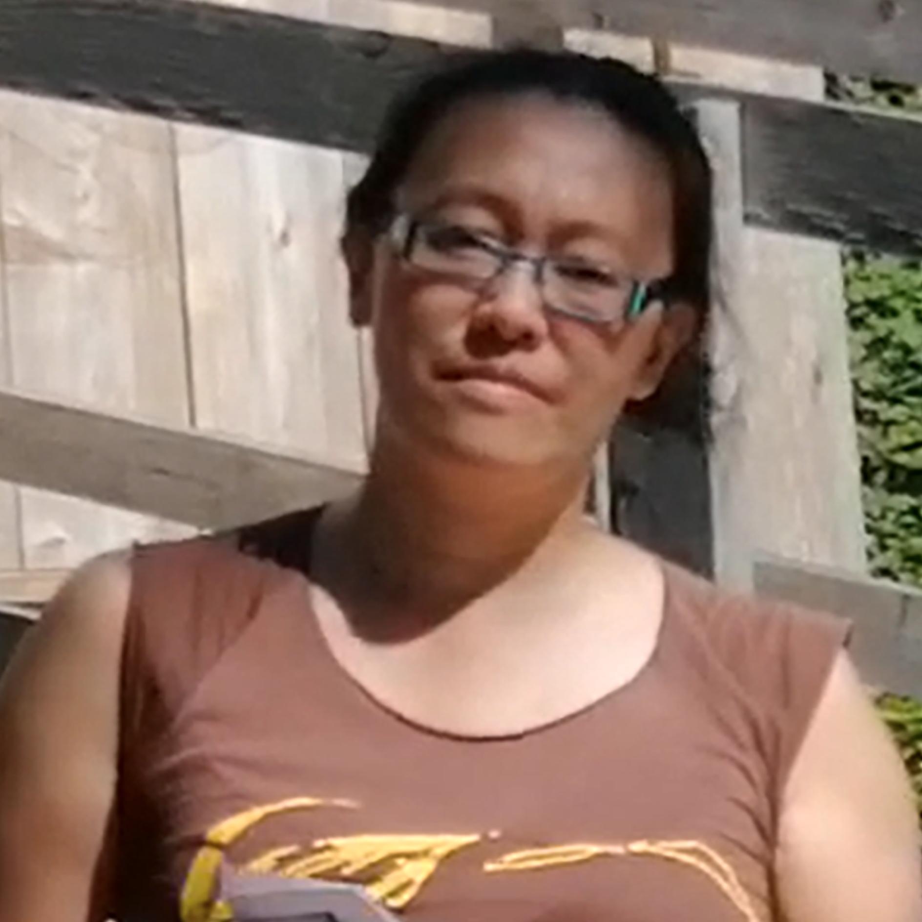 Rita Wong at the Coast Salish Watch House
