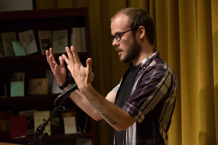 Danniel Schoonebeek, Poetry Reading, Poets, Poetry NYC