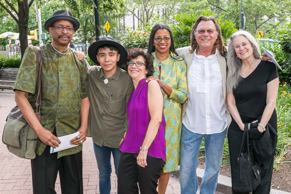 Poets House, Poetry NYC, E Ethelbert Miller, Ocean Vuong, Lee Briccetti, Robin Coste Lewis, Thomas Lux, Sharon Olds