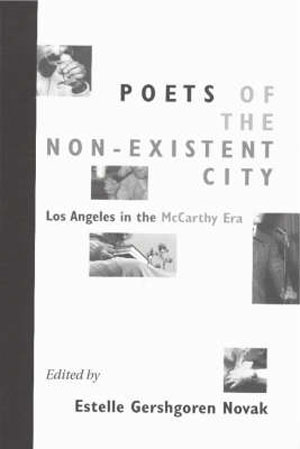 Poets of the Non-Existent City book cover