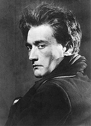 A portrait of Artaud, taken by Man Ray c. 1926.