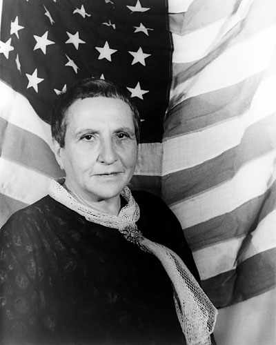 Gertrude Stein, Poetry discussions, Poetry NYC