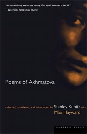 Poems Of Akhmatova book cover