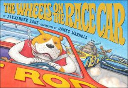 The Wheels on the Race Car book cover
